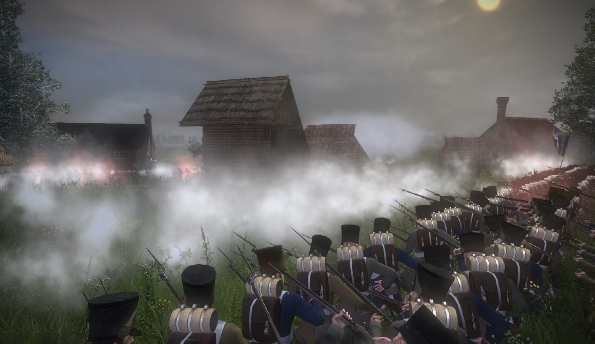 Napoleonic: Total War III ~ NTW3 ~ Gameplay French line infantry returning fire