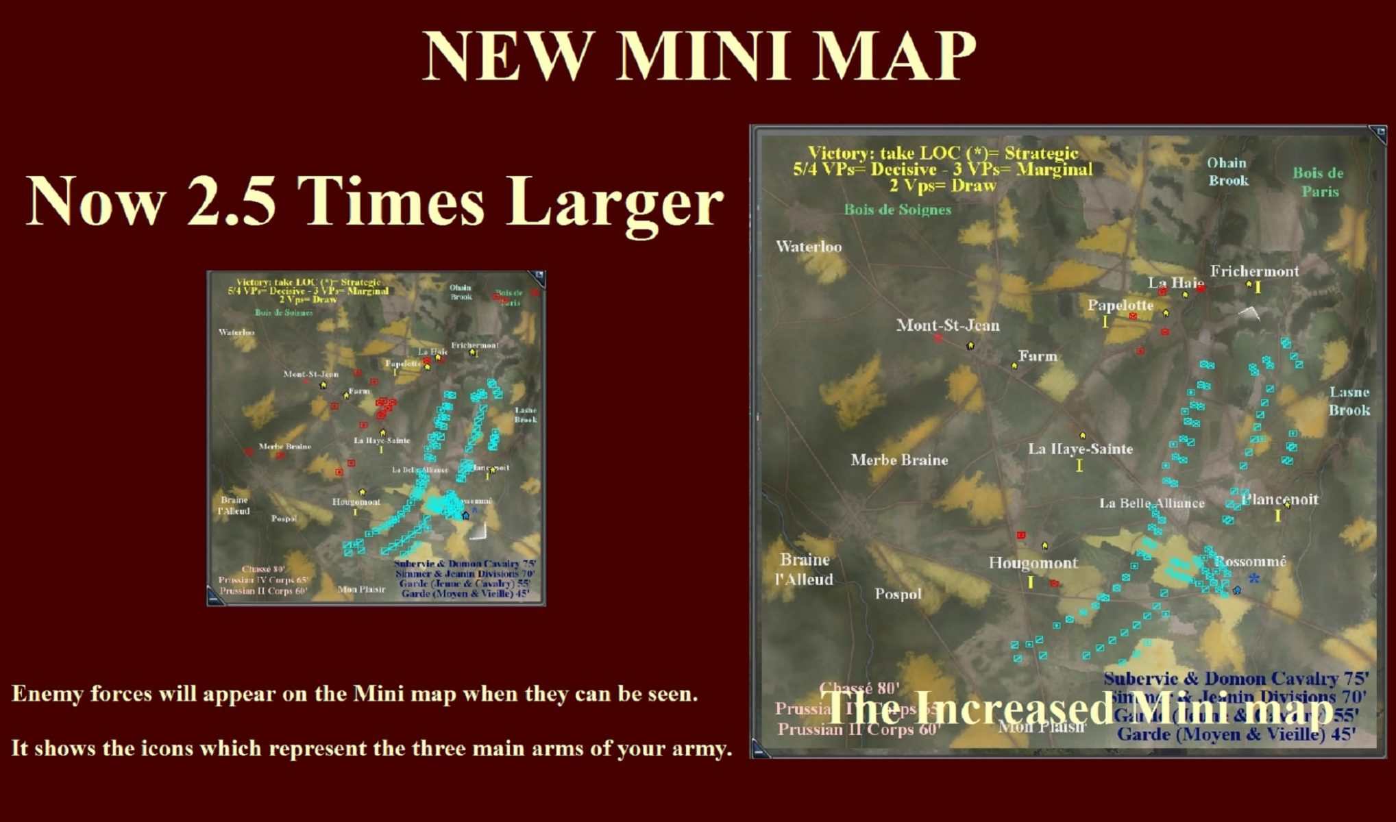 Napoleonic: Total War III ~ NTW3 ~ New 2.5 Times Larger Mini Map